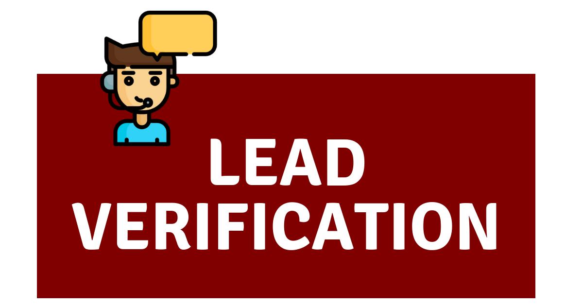 Lead-Verification